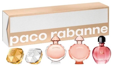 Sieviešu smaržu komplekts Paco Rabanne Special Travel Edition 5pcs Set 28 ml