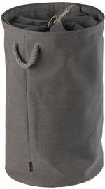 Aquanova Colin Laundry Basket 81l Dark Grey