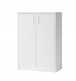 Apavu plaukts Idzczak Meble 04 White, 740x350x1100 mm