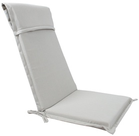 Home4you Florida Chair Cover Light Grey 48x115x6cm