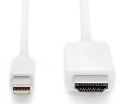 Assmann Cable Mini Displayport / HDMI White 2m