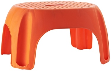 Ridder Footstool Orange