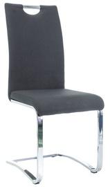 Ēdamistabas krēsls Signal Meble H790 Chrome/Black, 1 gab.