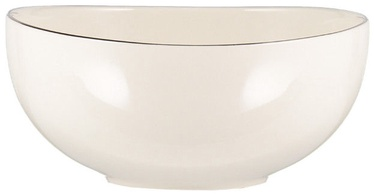 Quality Ceramic Sense Bowl Platinum 14.5cm