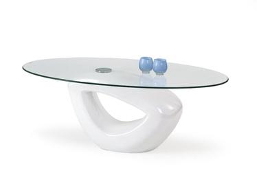 Kafijas galdiņš Halmar Jasmin White, 1150x650x440 mm