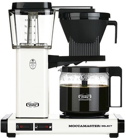 Kapsulas kafijas automāts Moccamaster KBG 741, balta