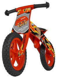 Velosipēds Milly Mally FLIP Wooden Balance Bike Fireman Red 1506