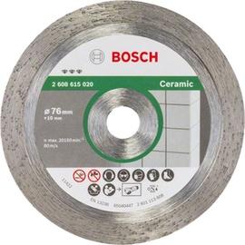 Dimanta griezējdisks flīzēm Bosch, 76x10x1,9mm