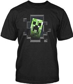 Jinx Minecraft Creeper Inside Men's Premium T-Shirt Black L