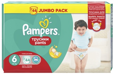 Pampers Pants, 6 size, 44 pcs.
