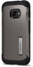 Spigen Slim Armor Kickstand Back Case For Samsung Galaxy Xcover 4 Gunmetal