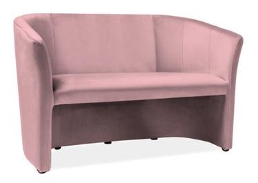 Dīvāns Signal Meble TM-2 Pink, 60 x 126 x 76 cm
