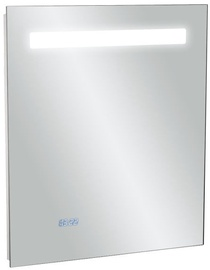 Kohler Replay LED Mirror w/ Digital Clock 55x65cm