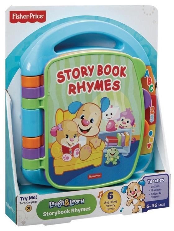 Interaktīva rotaļlieta Fisher Price Laugh & Learn Storybook Rhymes CDH40, EN