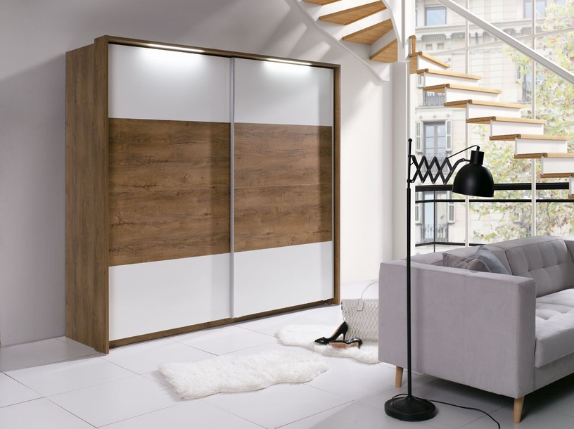 Guļamistabas mēbeļu komplekts Maridex Latika White