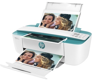 Daudzfunkciju printeris HP DeskJet 3762 AiO, tintes, krāsains