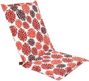 Home4you Chair Cover Summer 42x90x3cm Red/White