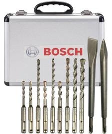 Bosch SDS-Plus Chisels & Drills Set 11pcs