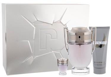 Smaržas Paco Rabanne Invictus 100 ml EDT + 100 ml Dušas želeja + 10 ml EDT New Design