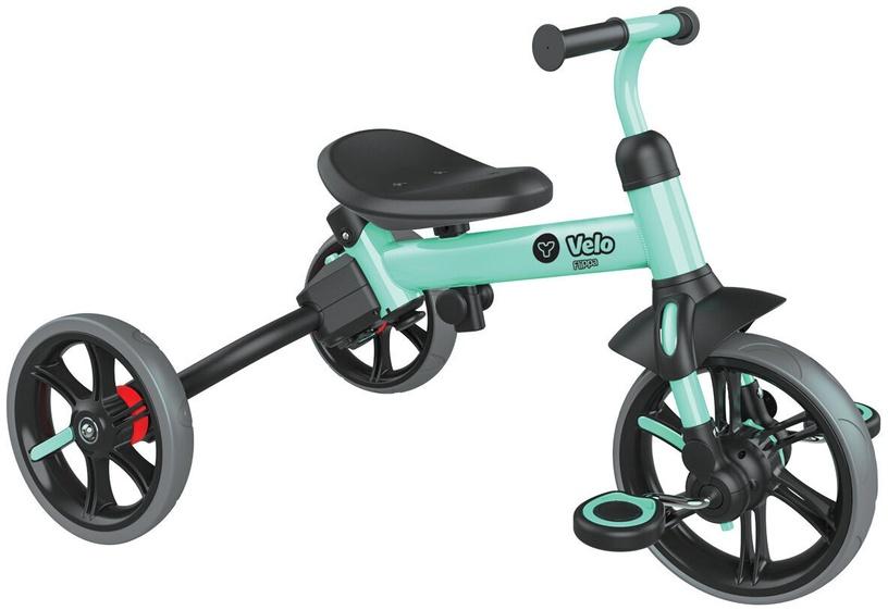 Балансирующий велосипед YVolution Y Velo Flippa 101222, зеленый, 8.5″