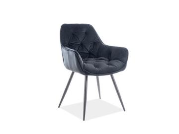 Ēdamistabas krēsls Signal Meble Cherry Velvet Black 19