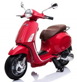 Electric Scooter With Side Wheels Red CH8820