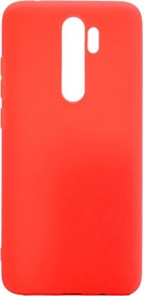 Evelatus Soft Touch Back Case For Xiaomi Redmi 9 Red