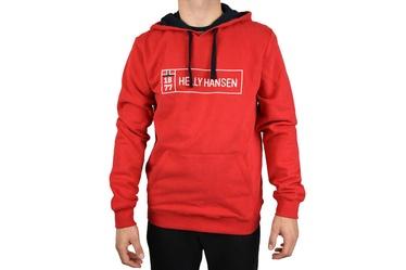 Helly Hansen Mens Hoodie 53338-111 Red M