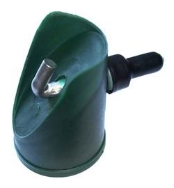 Uzgalis atsaitei, D48 mm ar skrūvi zaļš
