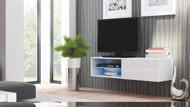 Halmar Livo RTV 120W Hanging TV Stand Glossy White
