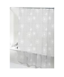 Ridder Moonflower Bathroom Curtains 180x200cm 303211