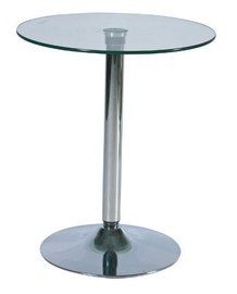 Bāra galds Signal Meble B100 Glass, 600x600x720 mm