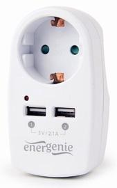 Lādētājs EnerGenie EG-ACU2-02, AC / 2 x USB