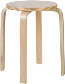 Табурет Home4you Sixty-1 Natural Wood 10152, 1 шт.