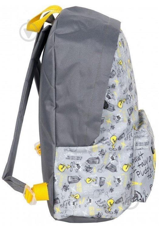 Рюкзак Paso Looney Tunes Grey/Yellow LTT-A220