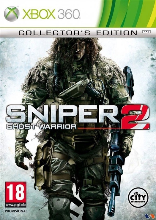 Sniper Ghost Warrior 2 Collectors Edition Xbox 360