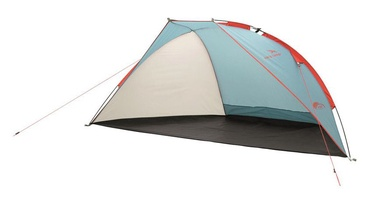 3-местная палатка Easy Camp Beach 120297, синий/белый/oранжевый