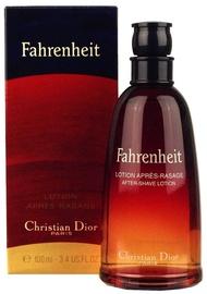 Лосьон после бритья Christian Dior Fahrenheit, 100 мл