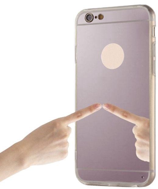 Blun Mirror Back Case For Samsung Galaxy S8 Pink