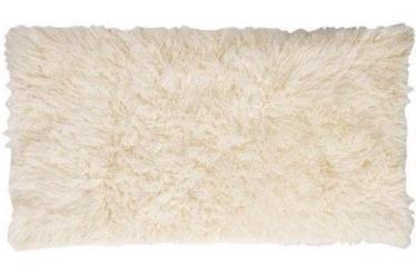 Paklājs Flokati 1300G 0.7x1.4m, balts