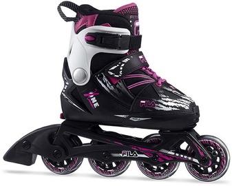 Ролики Fila X-One 010620145, черный/розовый, 38-41