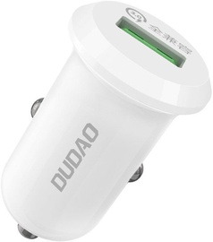 Dudao R4 USB Quick Charge Car Charger White