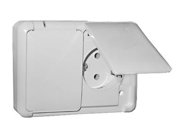 Liregus Hermi PKL16-007 Socket White