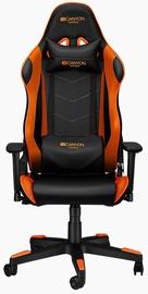 Spēļu krēsls Canyon Deimos CND-SGCH4, melna/oranža