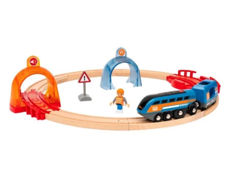 Комплект Brio Smart Tech Sound Action Tunnel Travel Set 33974