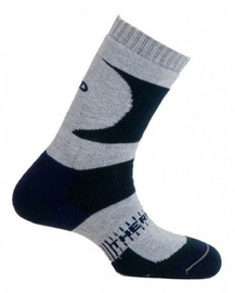 Mund Socks K2 Black/Gray L