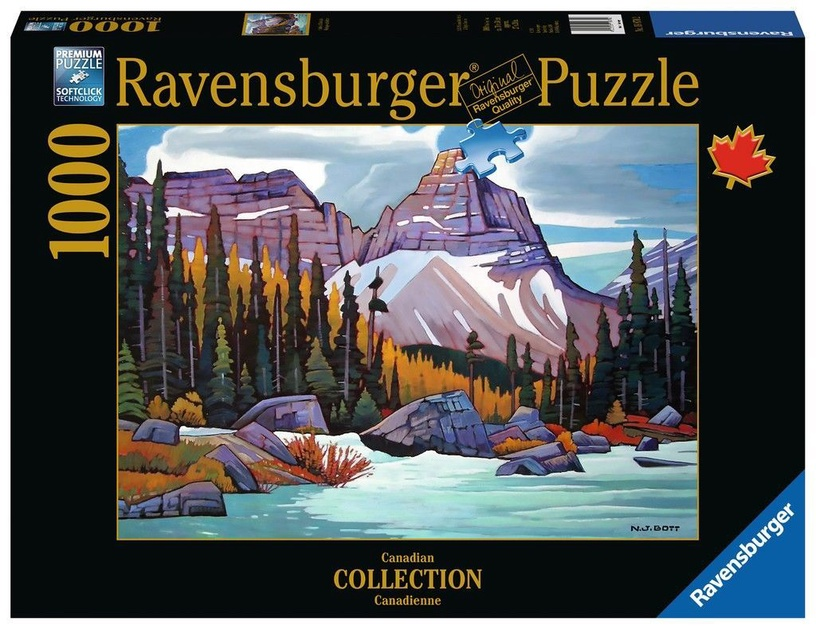 Puzle Ravensburger Cathedral Mountain, 1000 gab.