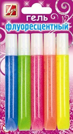 Luch Glue-Glitter 10ml Neon 5 Colours