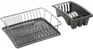 Metaltex Aquatex Plus Dish Drainer Grey