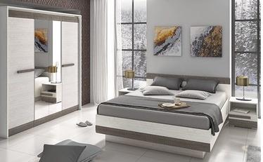 Guļamistabas mēbeļu komplekts ML Meble Blanco